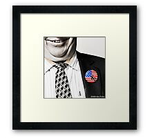 The Limbaugh Principle Framed Print