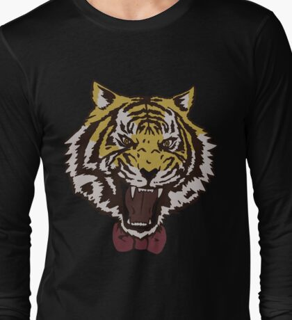 Bow Tie Tiger Long Sleeve T-Shirt