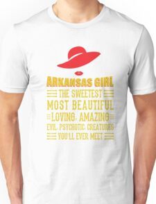 Arkansas Girl Unisex T-Shirt