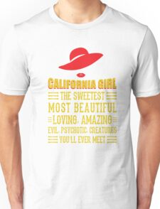 California Girl Unisex T-Shirt