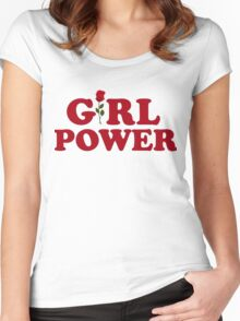 Girl power gift shirt Women's Fitted Scoop T-Shirt