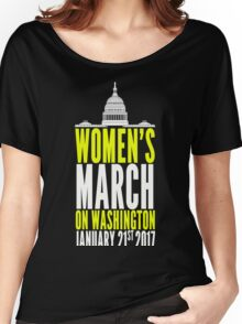 WOMENS MARCH ON WASHINGTON Jan 2017 Women's Relaxed Fit T-Shirt