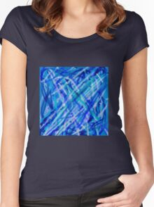 Sea plants Women's Fitted Scoop T-Shirt