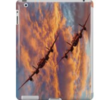 Out Of The Sunset - The 2 Lancasters iPad Case/Skin