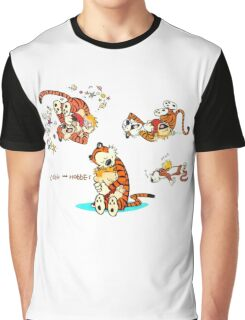 Calvin and Hobbes all Graphic T-Shirt