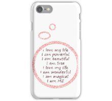 I love my life iPhone Case/Skin