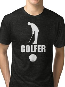 Stylish Golfer Tri-blend T-Shirt