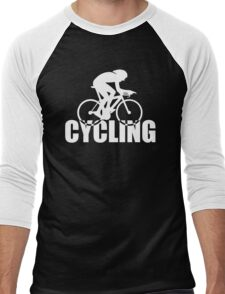Stylish Cyclist Men's Baseball ¾ T-Shirt