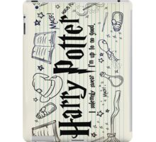 Harry Potter Collage iPad Case/Skin