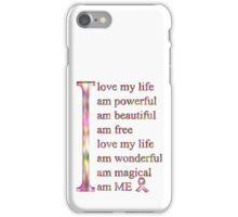 I love ME iPhone Case/Skin