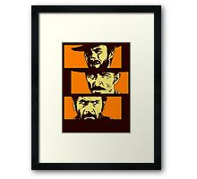 Blondie , Angel Eyes , Tuco Framed Print