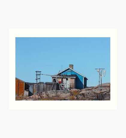 Arctic Abode Art Print