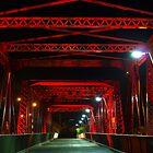 Red Bridge by Wayne  Nixon  (W E NIXON PHOTOGRAPHY)