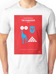 No145 My THE HANGOVER Part III minimal movie poster Unisex T-Shirt