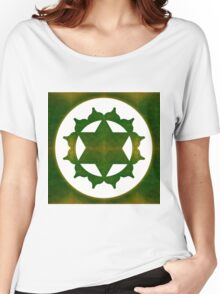 Ultimate Tranquility Abstract Chakra Art  Women's Relaxed Fit T-Shirt