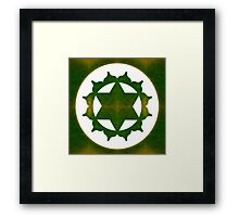 Ultimate Tranquility Abstract Chakra Art  Framed Print