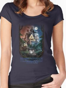 Mysterious things Women's Fitted Scoop T-Shirt