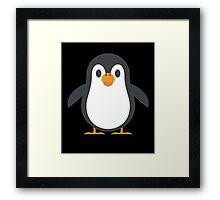 Cute Penguin Graphic Design Love Friend Happy Framed Print