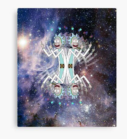 Alien Rick Canvas Print