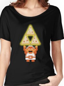 LINK THE PIZZ-FORCE Women's Relaxed Fit T-Shirt