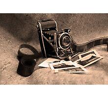 Old camera Photographic Print