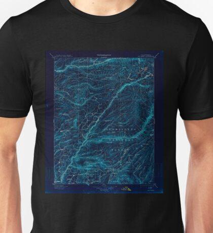 USGS TOPO Map California CA Big Trees 299220 1901 125000 geo Inverted Unisex T-Shirt