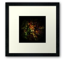 black summer Framed Print