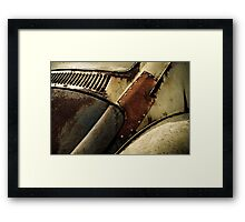 'Patchwork' VW Beetle Framed Print