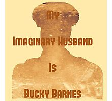 My Imaginary Husband Is Bucky Barnes Photographic Print