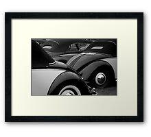 Vintage VW Convertibles Framed Print