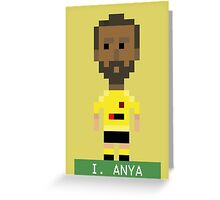 Pixel Hornets: I Anya Greeting Card