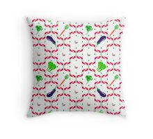 Vegetables Glade Throw Pillow