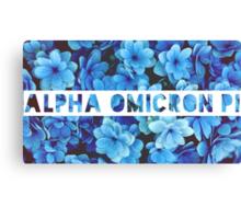 Alpha Omicron Pi  Canvas Print