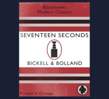 Seventeen Seconds Book Cover Kids Tee