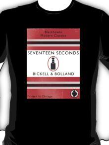 Seventeen Seconds Book Cover T-Shirt