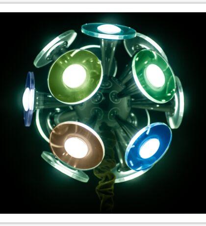 Lights to Disco Sticker