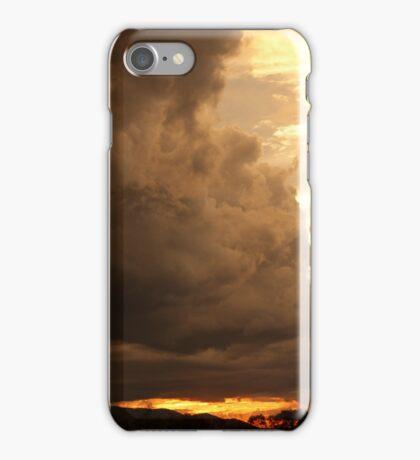 Fire and rain iPhone Case/Skin