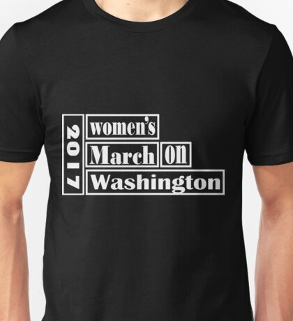 womens march womens Unisex T-Shirt