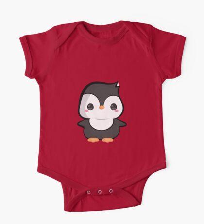 Cute Baby Penguin One Piece - Short Sleeve