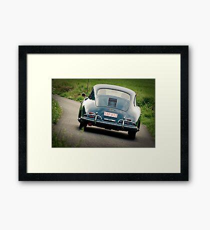1959 Porsche 356A 1600 Super Coupé Framed Print