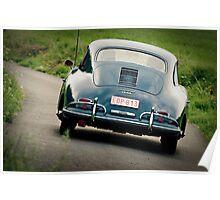 1959 Porsche 356A 1600 Super Coupé Poster