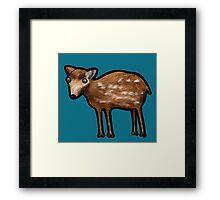 Mouse Deer Framed Print