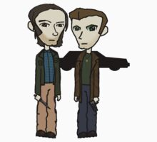 Sam & Dean  2 by sybilthorn