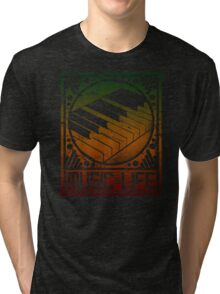 Music is Life: Piano Tri-blend T-Shirt