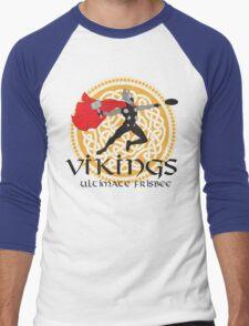 Vikings Ultimate Frisbee Men's Baseball ¾ T-Shirt