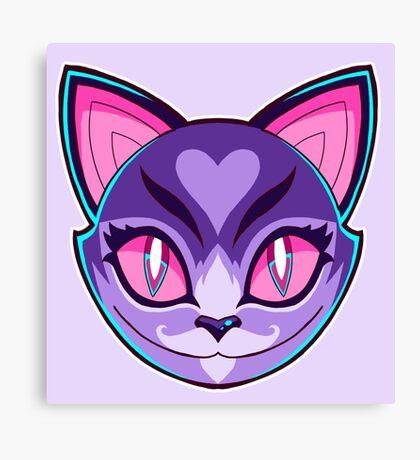 Kawaii Cat Canvas Print