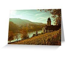 Eglisau Dorf Greeting Card