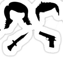 Brothers In Arms Sticker