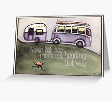Taking a trip Greeting Card