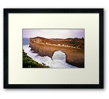 Great Ocean Road, Victoria - Arch in Headland Framed Print